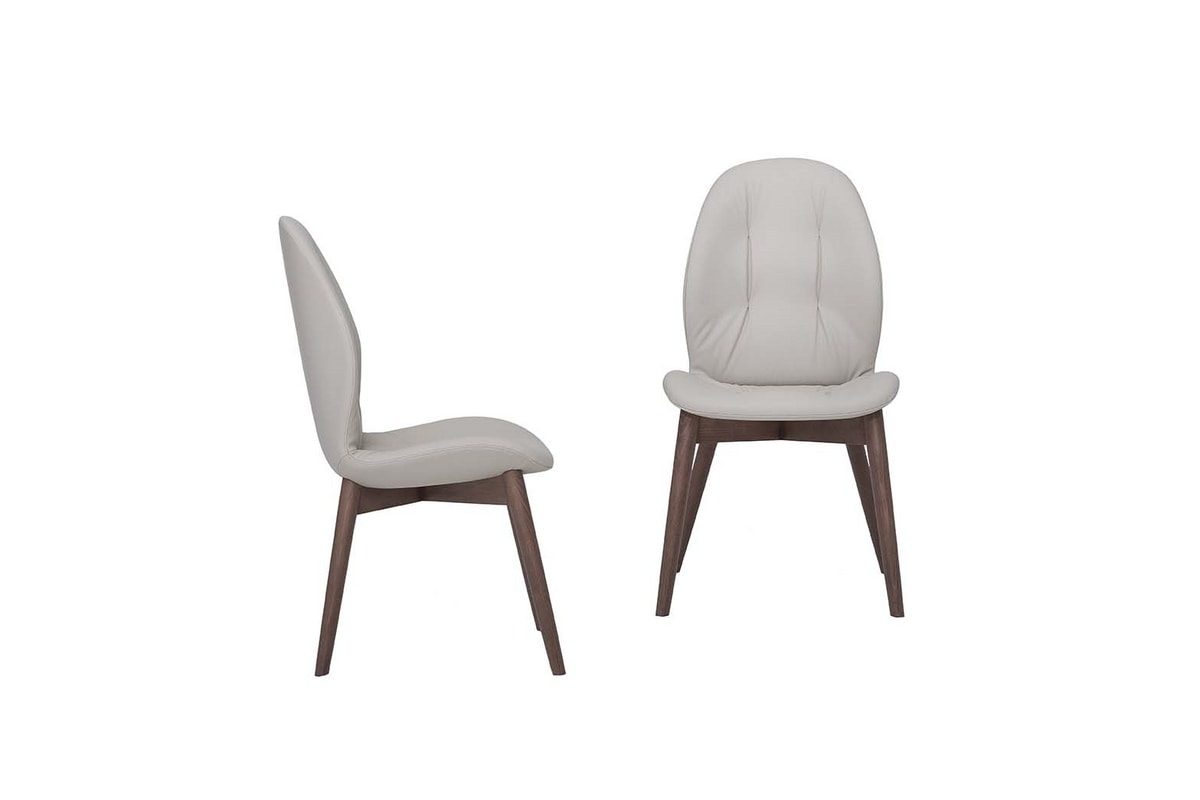 SORRENTO EASY, Chair with wooden structure without creasing