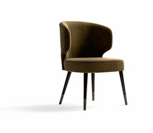 Starlight Art. ST726, Chair with enveloping backrest