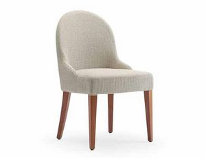 Tina-S, Chair for hotels and restaurants, upholstered