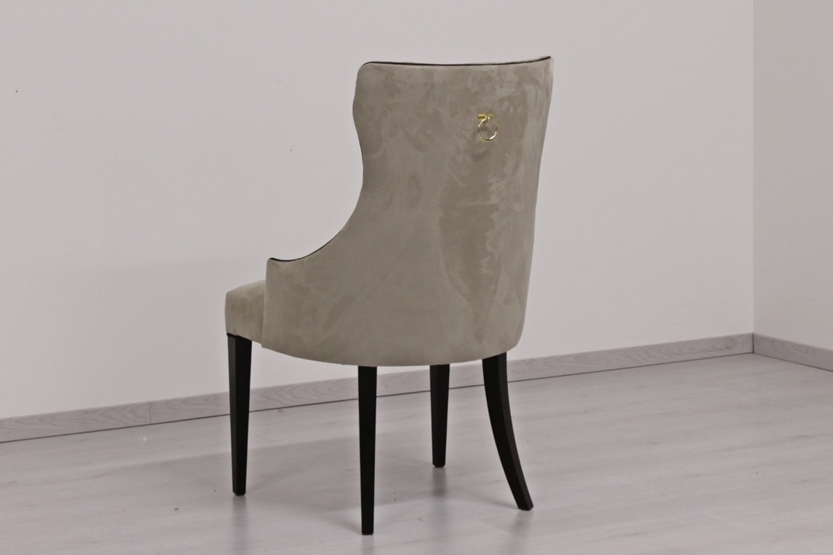 Vogue, Chair with high capitonnè backrest