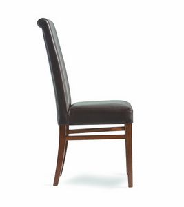 Wiky/RI, Dining chair with high backrest
