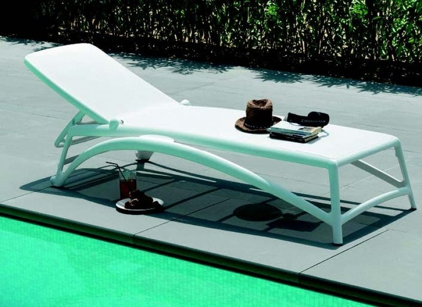 9685 Atlantico, Stackable and reclining sunbed