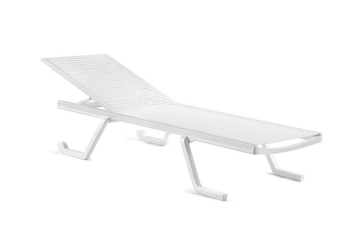 Doge sunlounger, Sunbed with adjustable backrest
