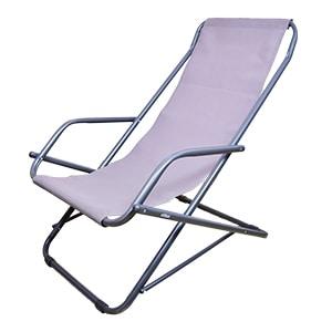 Oscillante transat chilienne, Water-repellent folding deckchair