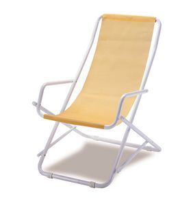 Oscillante transat chilienne, Water-repellent folding deckchair