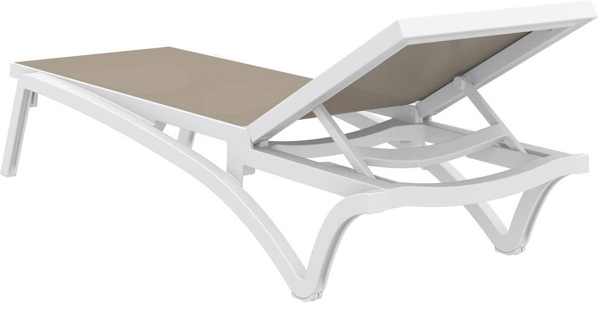 Piper - L, Sunlounger suitable for outdoor, sunlounger for beach