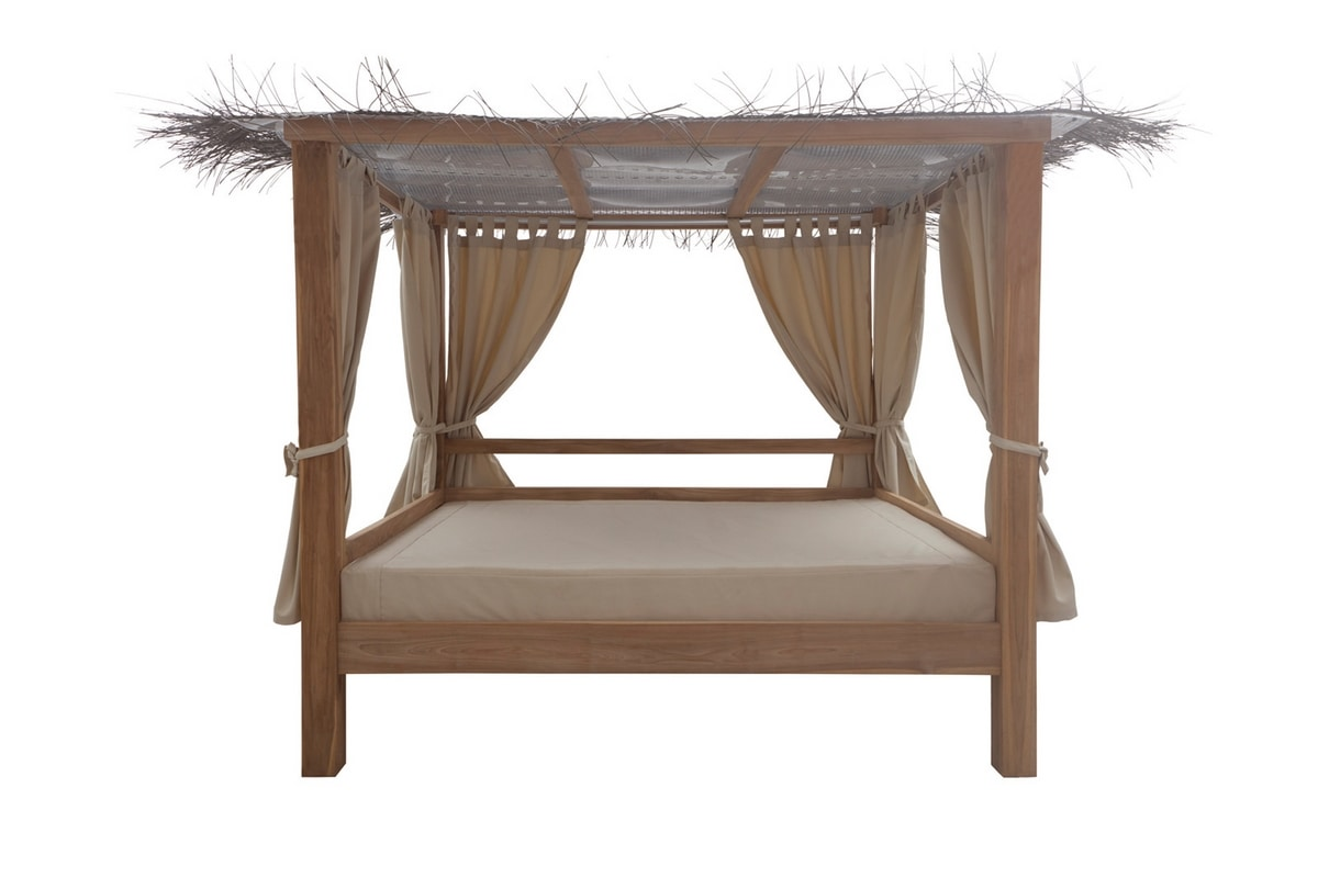 Ratio 0526, Daybed with gazebo for garden