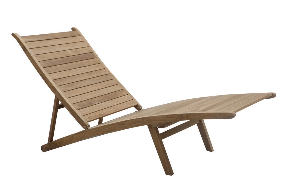 Savana 0512, Adjustable deckchair with leg rest