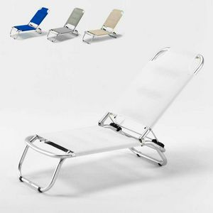 Beach sea folding chair Tropical – TR800TEX, Sun loungers in aluminum and Textilene fabric ideal for beach