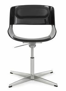 Amaranta swivel chair 25.0034X, Swivel chair with cross base