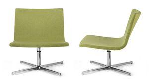 EXEN 242 Z, Swivel upholstered chair