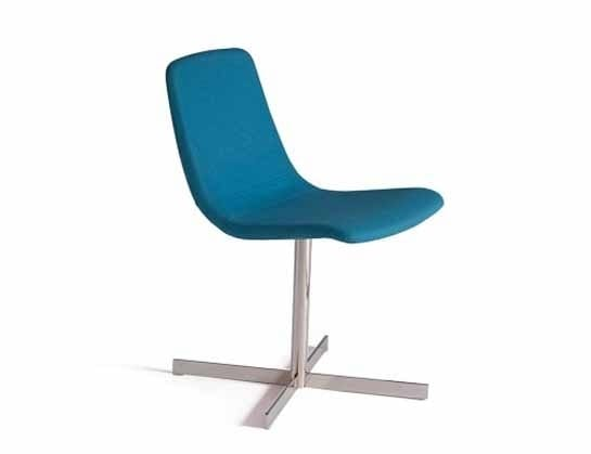 Ics 505CRU, Stuffed chair with swivel base