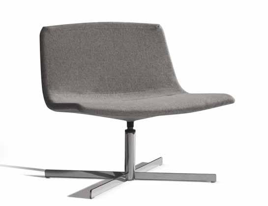 Ics 507CRU, Swivel chair, for lounge areas