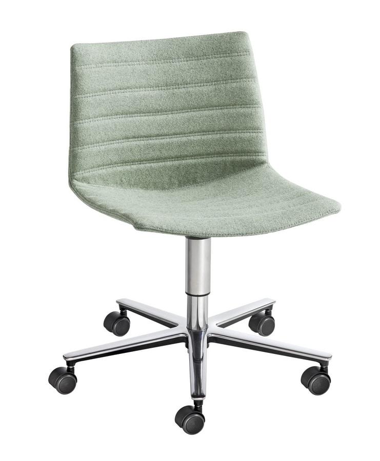 Kanvas T5R, Swivel chair on wheels