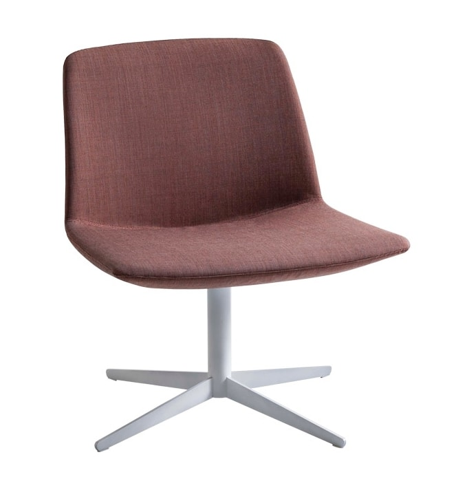 Kanvas Lounge, Lounge chair with wide seat for hotels