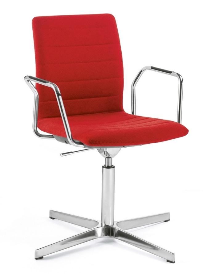 Q2 IM, Swivel and hight adjustable chair