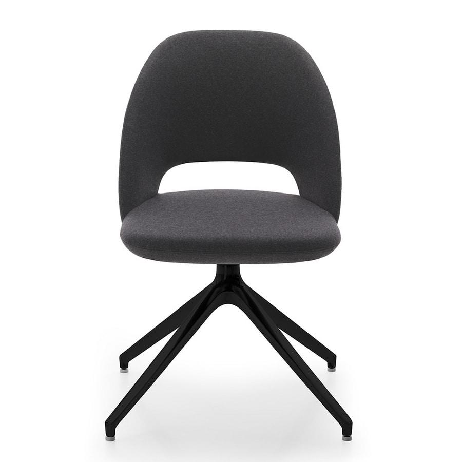 Vivian chair, Chair with swivel base