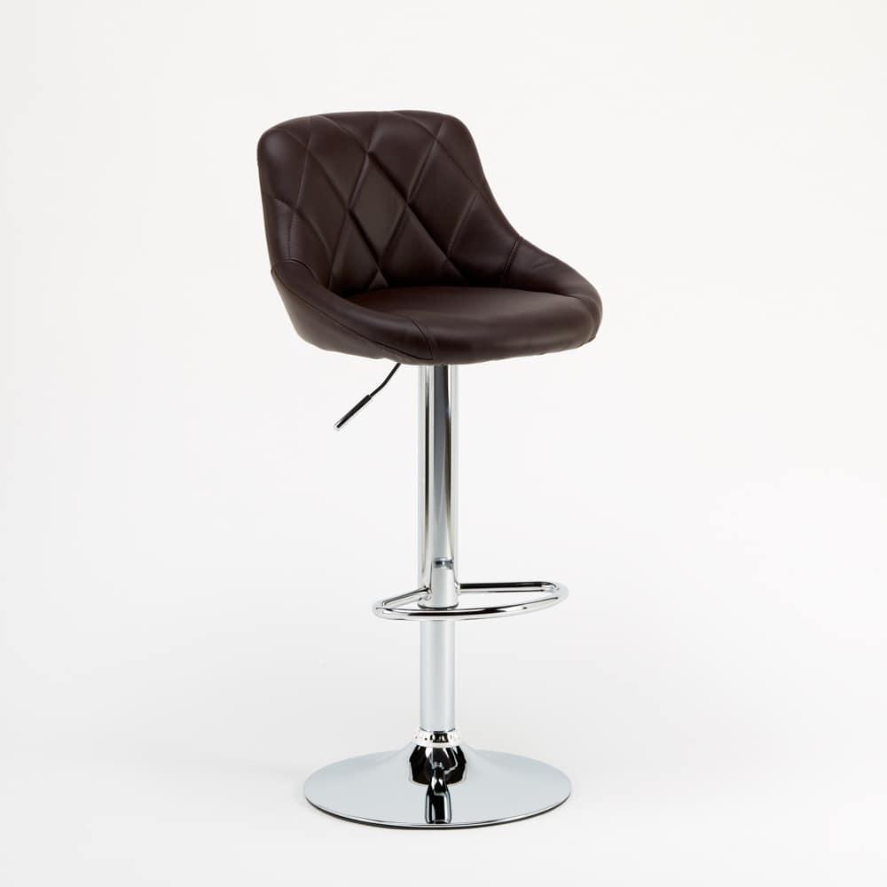 Adjustable kitchen bar stool Philadelphia - SGA052PHI, Padded high stool, easy to assemble