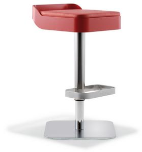 Belt, Swivel stool, padded seat, adjustable height