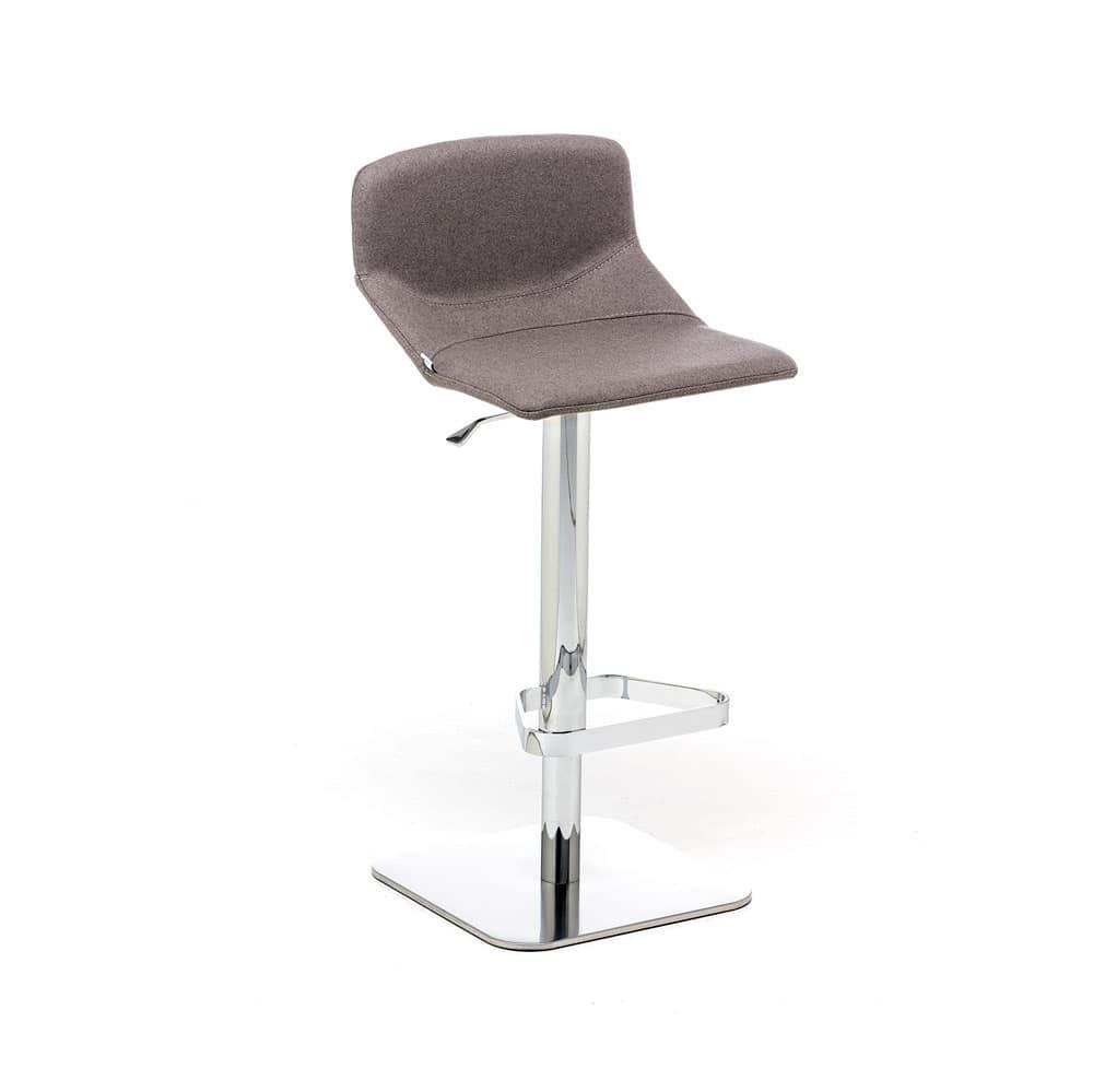 Formula Slim ST-ADJ, Adjustable stool, with upholstered seat