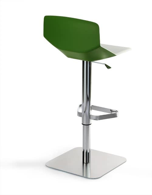 Formula tech ST-ADJ, Stool with minimal design, height adjustable and swiveling, for kitchen counter and bar