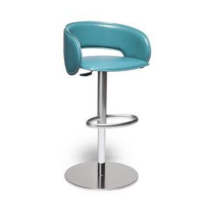 Luna, Swivel and adjustable stool