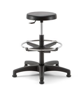 Duke 03, Swivel stool with round seat