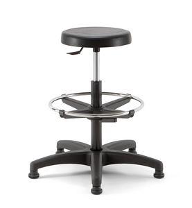 Duke 03, Swivel stool with round seat