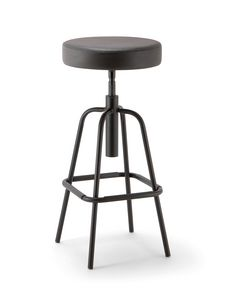 Duke Soft 05, Stool with round swivel seat