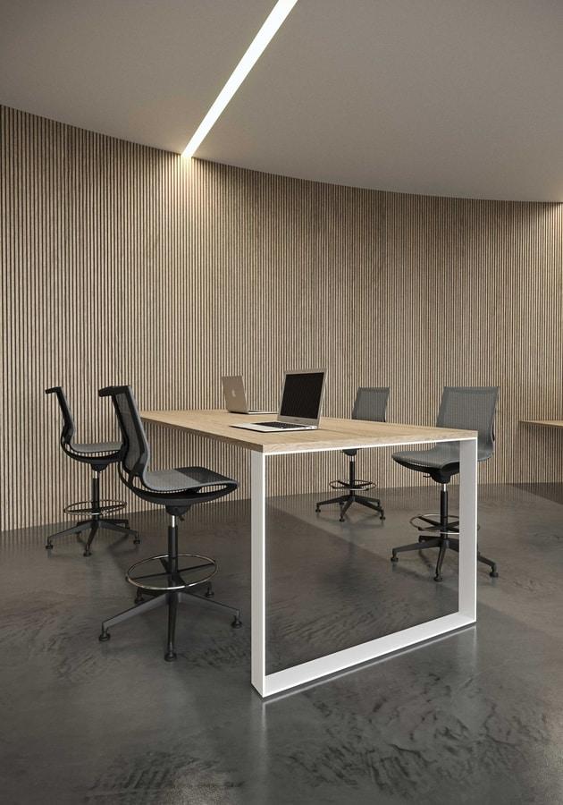 Key Line stool, Swivel stool for office