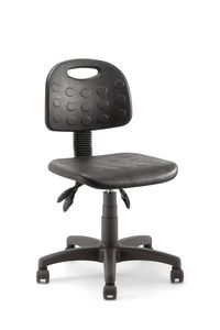 Prema 01, Stool on wheels, adjustable in height
