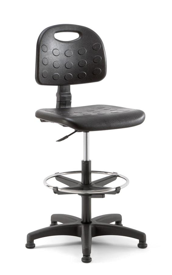 Prema 03, Work stool, customizable