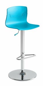 Slot Fill AV, Height-adjustable stool