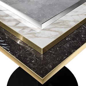 Art. 1101 Porcelain Stoneware Top, Table top in porcelain stoneware