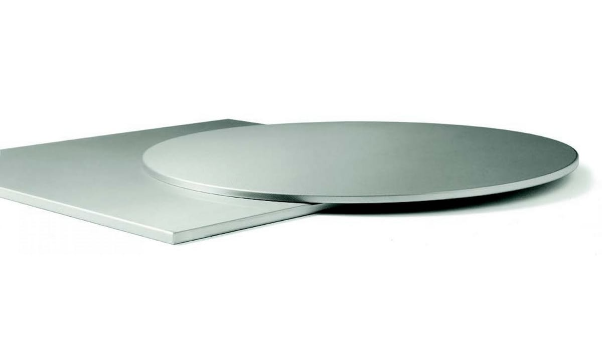 Inox 10mm, Stainless steel shelves
