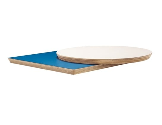 Top.L 809, Table tops with round, square and rectangular shapes