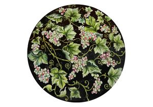 Natura Uva nero, Table with hand decorated top