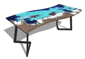 Onda Maui, Table with wave top