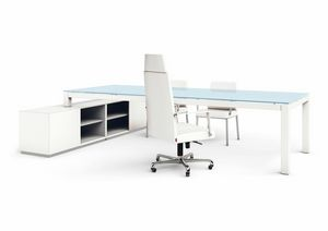 Abaco 200.AB12, Desk with cabinet
