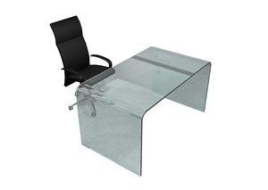 Iceberg, Desk in bent glass