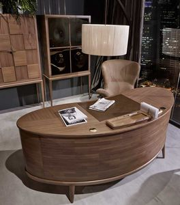 Monteverdi desk, Desk with rounded design