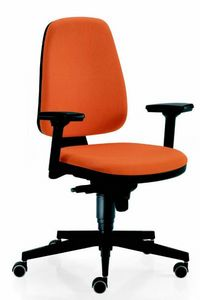 11555 Golf, Office chair with adjustable armrests