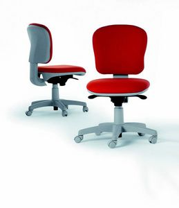 14878 Lady, Padded task chair, adjustable
