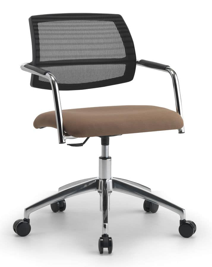 Air One Soft 05, Executive chair with gas lift, for office