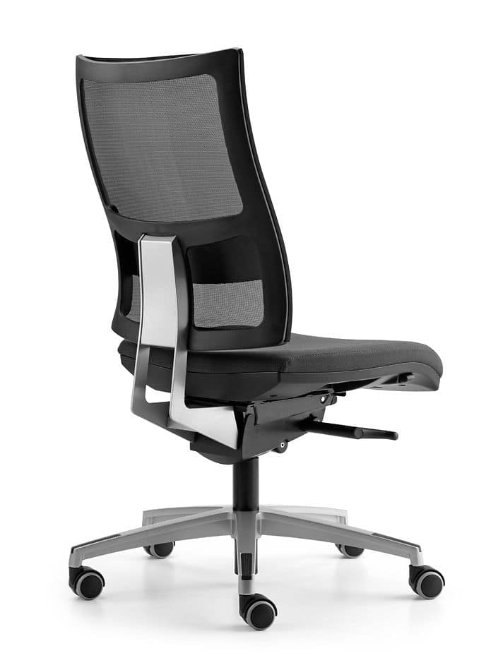 ALLYNET 1747, Task chair with back in breathable mesh