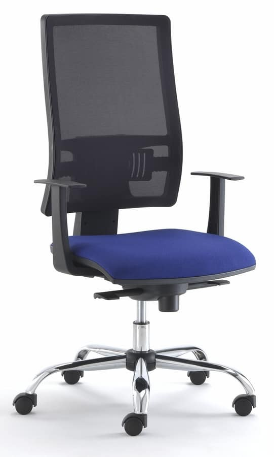 Sy Office Chair With Nylon Wheels And Gas Lift