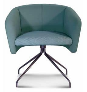 ART. BAL� Office, Office swivel chair, with metal frame, in different colors