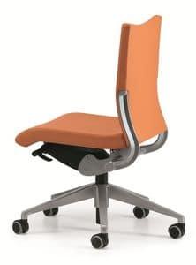 AVIA 4000, Operational office chair, side shift seat mechanism