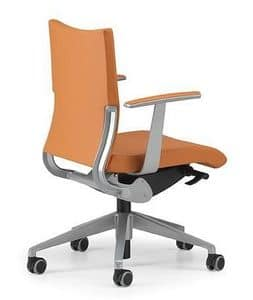 AVIA 4001, Task chair upholstered base on wheels and armrests