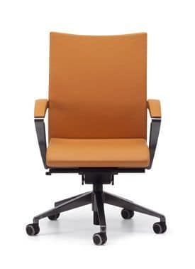 AVIA 4014, Modern office chair with wheels on the base